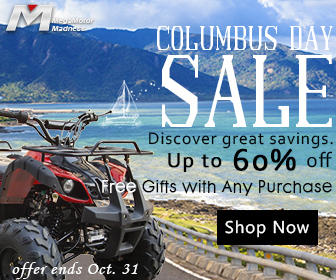 Columbus Day Sale,  Discover Great Savings,  Up to 60% off,  Free Gifts with Any Purchase,  Shop Now!  Offer ends Oct 31