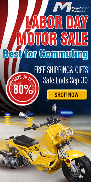 Labor Day Motor Sale  Best for Commuting Save up to 80%  Free shipping & Gifts  Sale Ends Sep 30  Shop Now