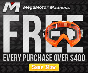 Every purchase for Motorcycles OVER $400, get a Goggle free. Buy now!