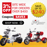 3% off for order over $400