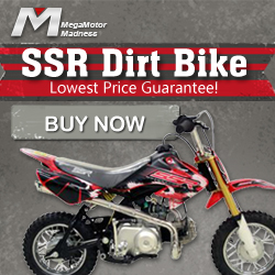 SSR Dirt Bike! Lowest Price Guarantee! Buy Now!