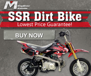 SSR DIRT BIKES, LOWEST PRICE GUARANTEE