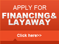 financing & layaway available
