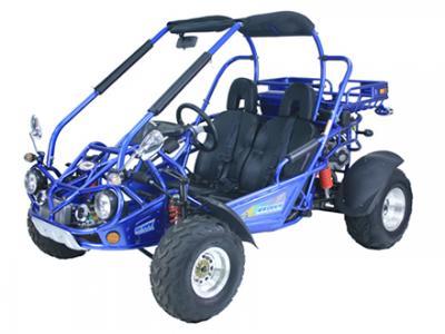 GKS018 300cc Go Kart - Silver