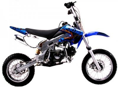 DIR041 125cc Dirt Bike - Green