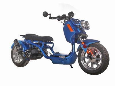 Sco135 150cc scooter the gen iv maddog icebear 150cc for Mega motor madness reviews