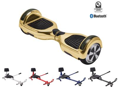 ESC025 Electric Balance Scooter with Hover Kart - Gold