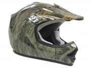 Youth Tree Camo DOT Approved Dirt Bike ATV Motorcycle Motocross Offroad Helmet