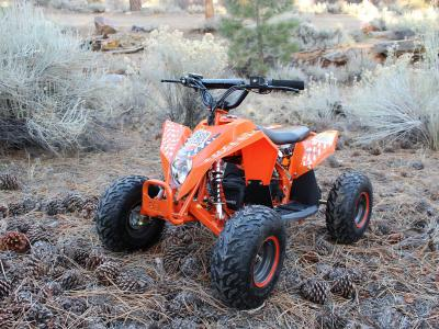 ATV107 Electric ATV - Orange