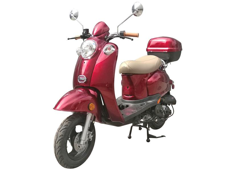Icebear_Bullet_49cc_Scooter_Moped_Free_Shipping_Available