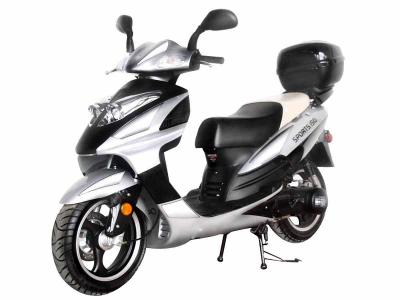 SCO174 150cc Scooter - Metallic Red/Silver