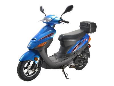 SCO184 50cc Scooter - Black