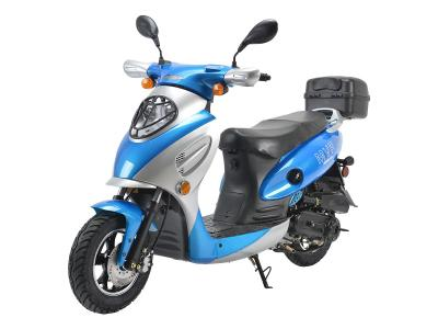 SCO185 50cc Scooter - Black