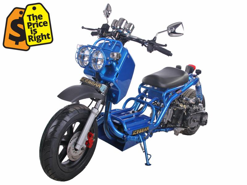 Icebear_GEN_I_MADDOG_49cc_Scooter_Moped_Free_Shipping_Available