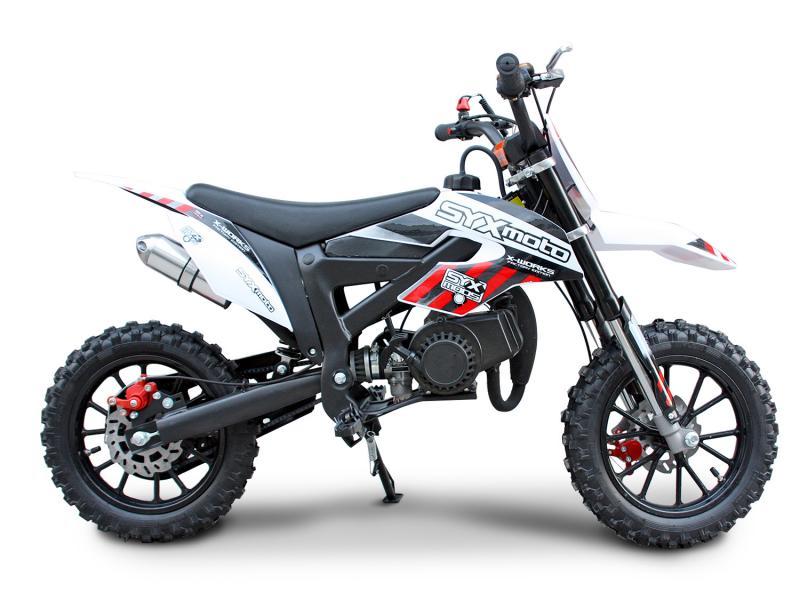SYXMOTO_HoleshotX_50cc_Dirt_Bike_Kids_Pit_Bike_Free_Shipping_Free_Gifts