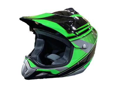 Black/Green Kids Helmet 818