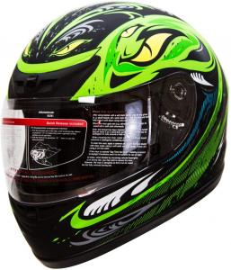Green Adult Helmet IV2 Serpent