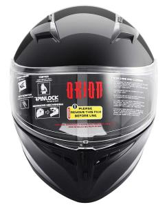 Gloss Black Adult Helmet Orion Zero