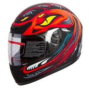 Red Adult Helmet IV2 Serpent
