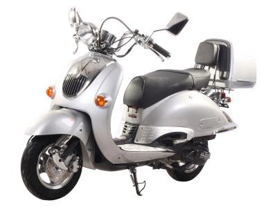 SCO027 150cc Scooter - Metallic Burgundy