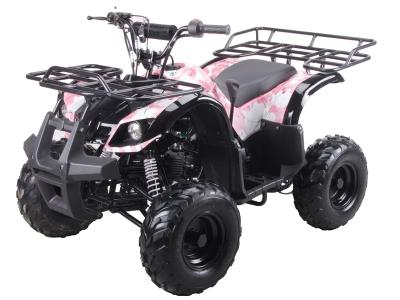 ATV057 125cc ATV - Pink Camo with Net